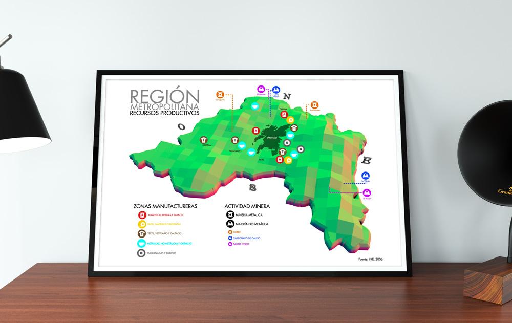Recursos Productivos Región Metropolitana